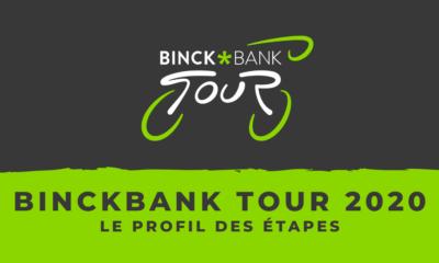 BinckBank Tour 2020 - Le profil des étapes