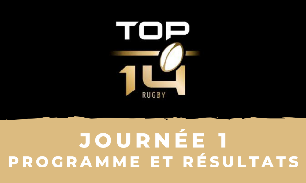 Rugby à XV   Calendrier Top 14 2020/2021   1ère journée