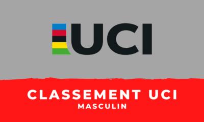 Cyclisme sur route : le classement UCI masculin