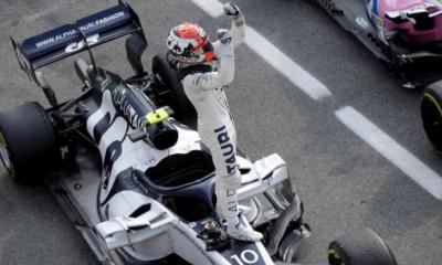 F1 - Grand Prix d'Italie - Un fantastique Pierre Gasly s'impose à Monza