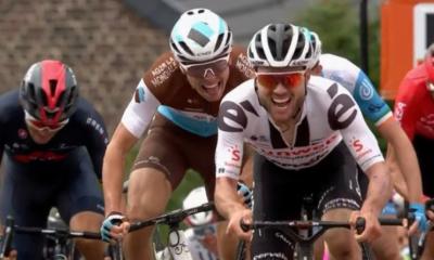 Flèche Wallonne 2020 - Course hommes - Marc Hirschi s'impose devant Benoît Cosnefroy