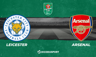 Football - Carabao Cup - Notre pronostic pour Leicester - Arsenal