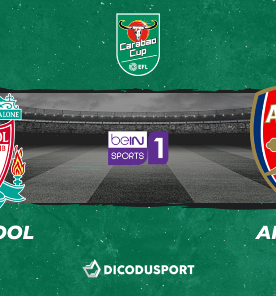 Football - Carabao Cup : notre pronostic pour Liverpool - Arsenal
