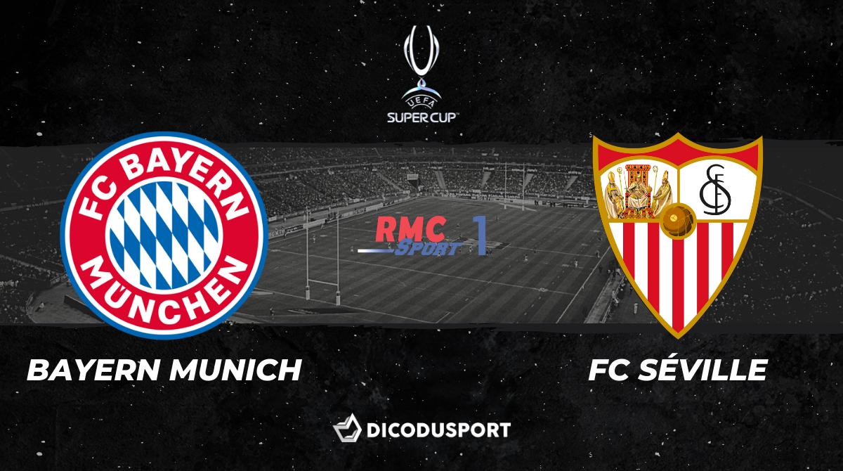 Football - Supercoupe d'Europe : notre pronostic pour Bayern Munich - FC Séville