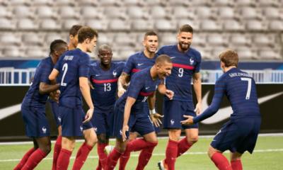 Le nouveau maillot de l'équipe de France de football dévoilé