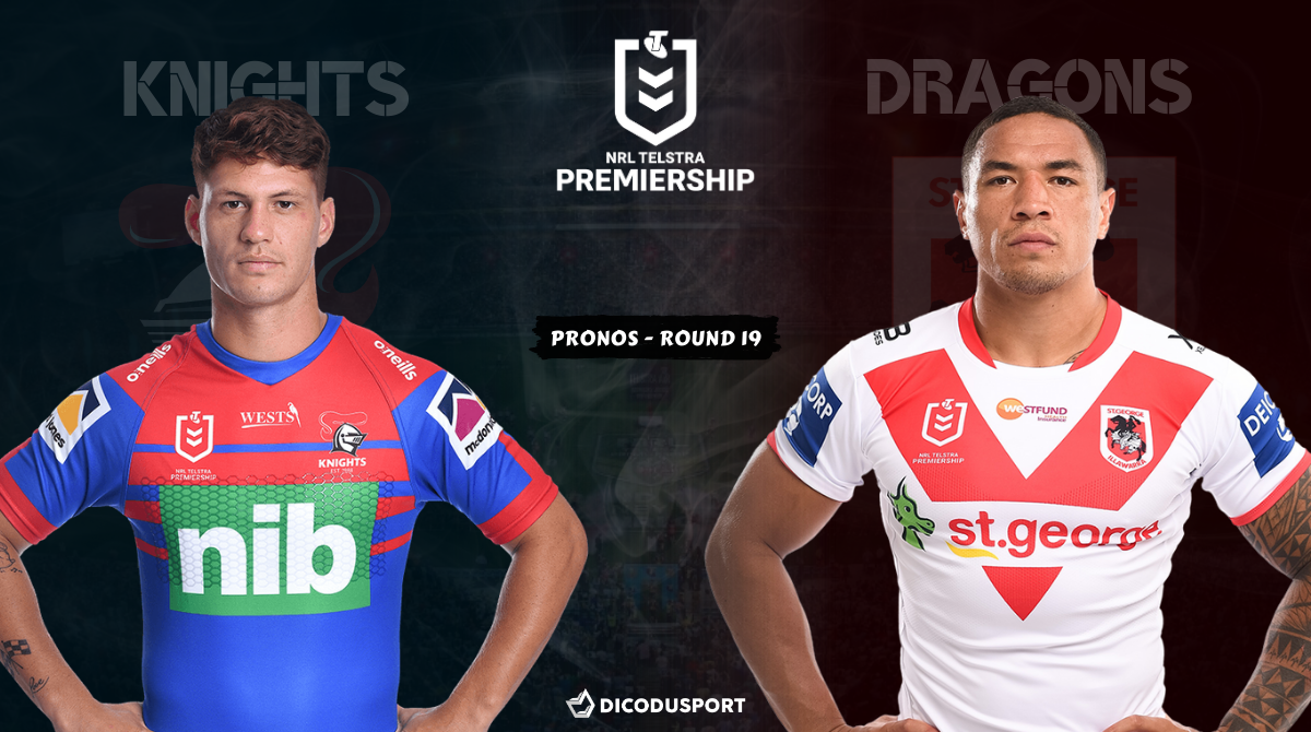 NRL : notre pronostic pour Newcastle Knights - St. George Illawarra Dragons