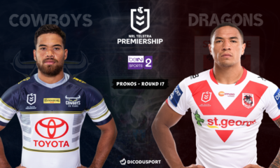 NRL : notre pronostic pour North Queensland Cowboys - St. George Illawarra Dragons