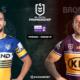 NRL : Notre pronostic pour Parramatta Eels - Brisbane Broncos