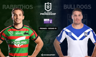 NRL - Notre pronostic pour South Sydney Rabbitohs - Canterbury Bulldogs