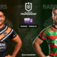 NRL - Notre pronostic pour Wests Tigers - South Sydney Rabbitohs