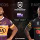 NRL : notre pronostic pour Brisbane Broncos - Penrith Panthers