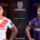 NRL notre pronostic pour St. George Illawarra Dragons - Melbourne Storm