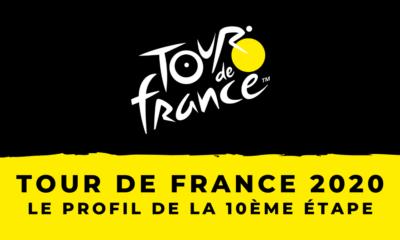Tour de France 2020 : le profil de la 10ème étape