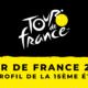 Tour de France 2020 - Le profil de la 15ème étape