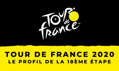 Tour de France 2020 : le profil de la 18ème étape
