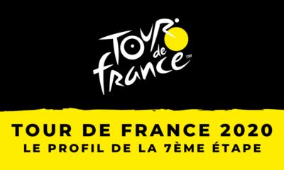 Tour de France 2020 : le profil de la 7ème étape
