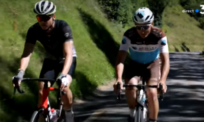 [Vidéo] Émilien Jacquelin sur les routes du Tour de France avec Nans Peters