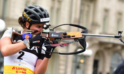 [Vidéo] Revivez la démonstration de Julia Simon sur la mass start du City Biathlon
