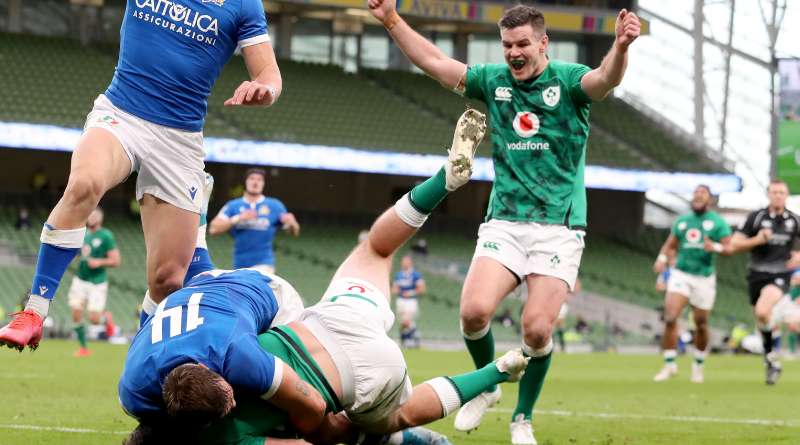 6 Nations 2020 - L'Irlande en démonstration face à l'Italie
