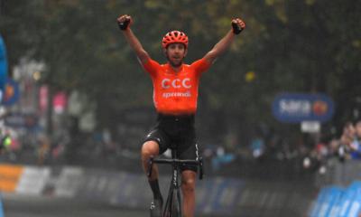 Cyclisme - Tour d'Italie 2020 - Josef Cerny s'impose en solitaire sur une 19ème étape raccourcie