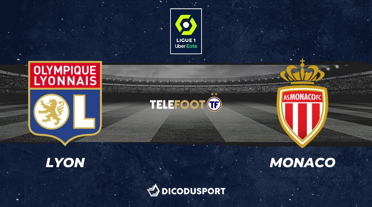 Football - Ligue 1 - notre pronostic pour Lyon - Monaco