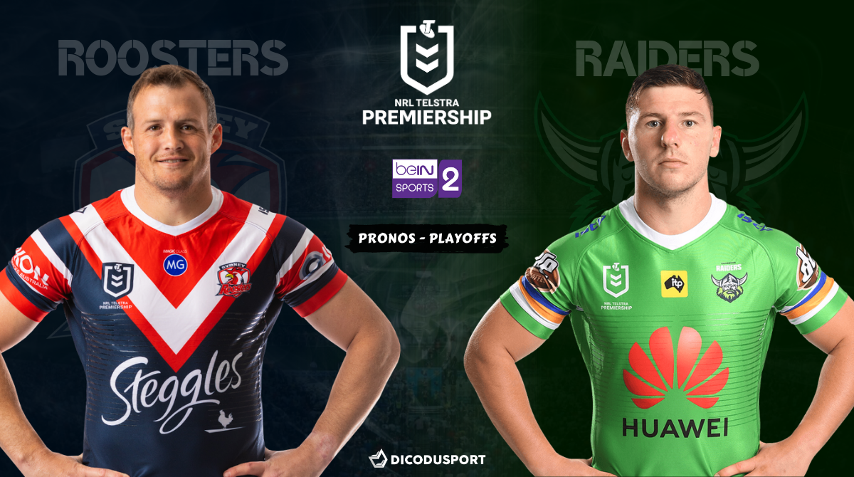 NRL - Notre pronostic pour Sydney Roosters - Canberra Raiders