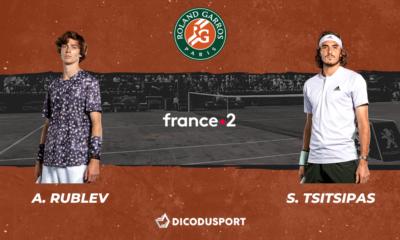 Roland-Garros : notre pronostic pour Andrey Rublev - Stefanos Tsitsipas