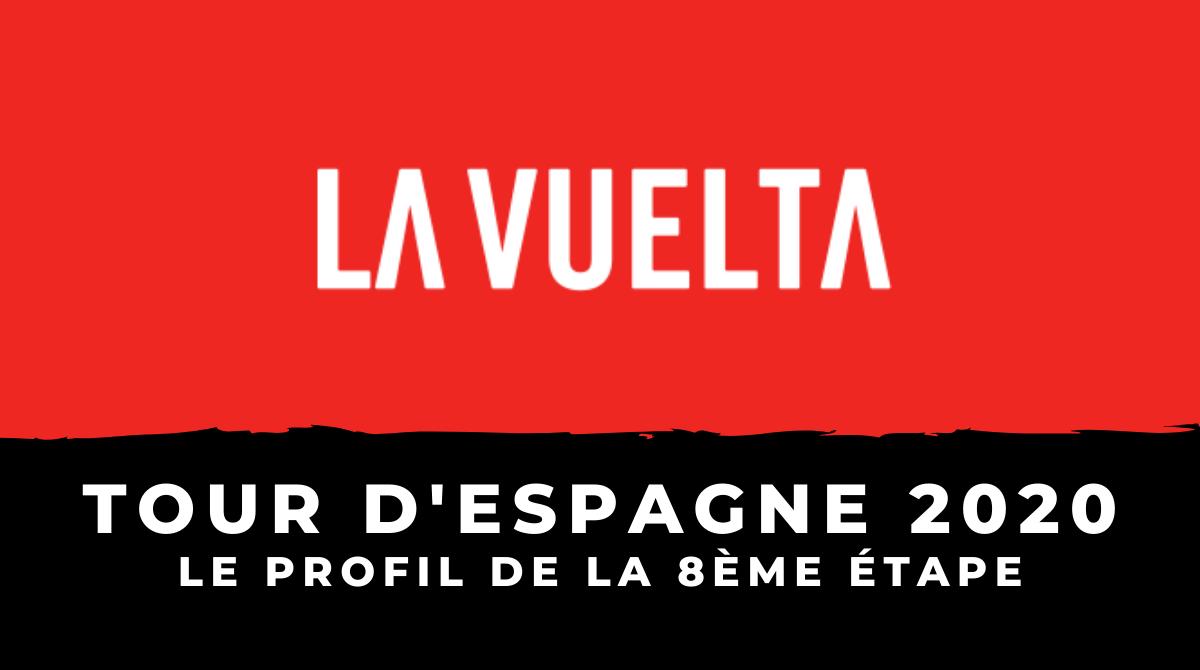 Tour d'Espagne 2020 - Le profil de la 8ème étape