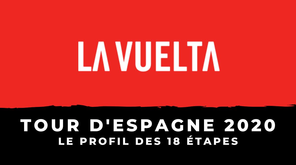 Tour d'Espagne 2020 - Le profil des 21 étapes