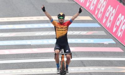 Tour d'Italie 2020 - Jan Tratnik remporte la 16ème étape