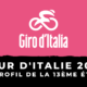 Tour d'Italie 2020 - Le profil de la 13ème étape