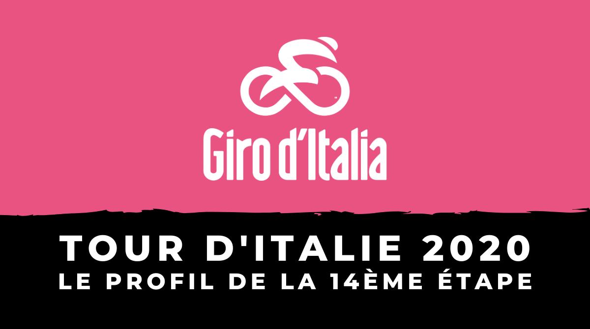 Tour d'Italie 2020 - Le profil de la 14ème étape