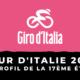 Tour d'Italie 2020 - Le profil de la 17ème étape
