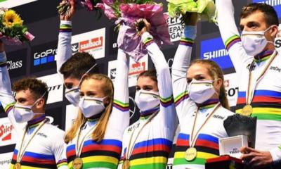 VTT Mountain Bike - Championnats du monde 2020 - L'équipe de France sacrée championne du monde sur le relais
