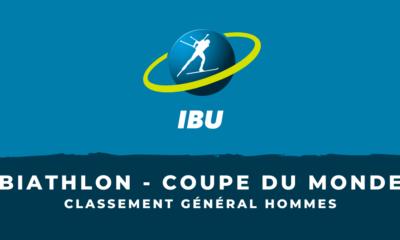 Biathlon - Coupe du monde 2020-2021 - le classement général hommes