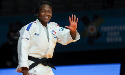 JO Tokyo 2020 - Judo : Clarisse Agbegnenou est en finale des -63kg