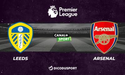 Football - Premier League - notre pronostic pour Leeds - Arsenal