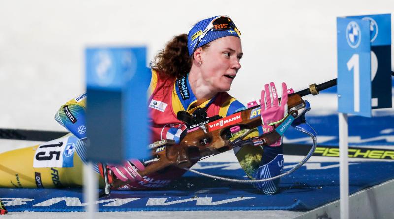 Kontiolahti : Hanna Oeberg remporte le sprint, Chloé Chevalier 8ème