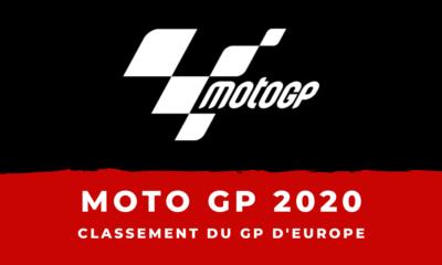 Moto GP - Grand Prix d'Europe à Valence : le classement de la course