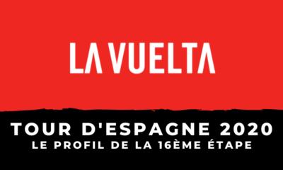 Tour d'Espagne 2020 - Le profil de la 16ème étape