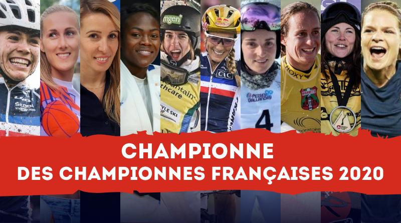 Élisez la Championne des Championnes françaises 2020