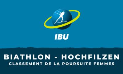 Biathlon - Hochfilzen - Le classement de la poursuite femmes
