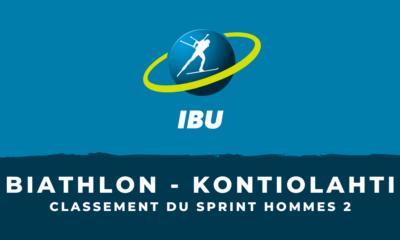 Biathlon - Kontiolahti : le classement du deuxième sprint hommes