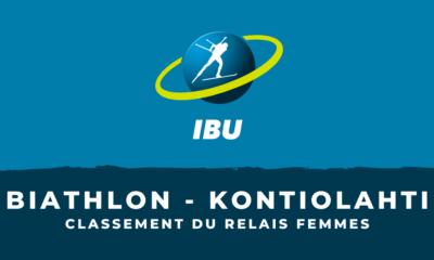 Biathlon - Kontiolahti : le classement du relais femmes