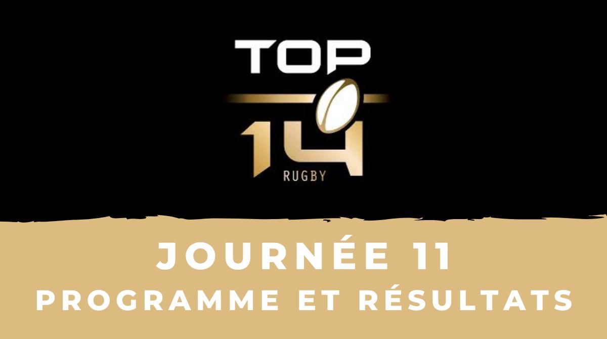 Calendrier 2021 2022 Top 14 Rugby à XV   Calendrier Top 14 2020/2021   11ème journée