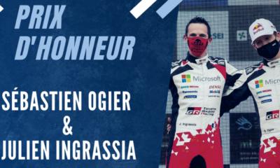 Champions français 2020 - Prix d'honneur _ Ogier et Ingrassia au 7ème ciel