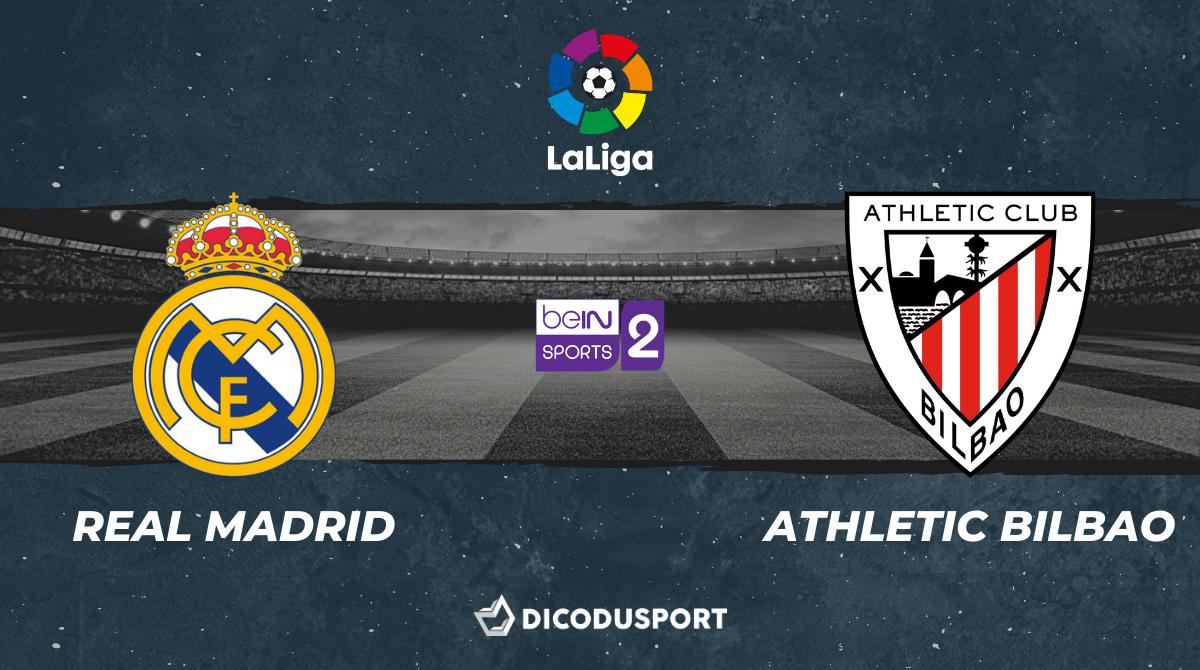 Football - Liga notre pronostic pour Real Madrid - Athletic Bilbao