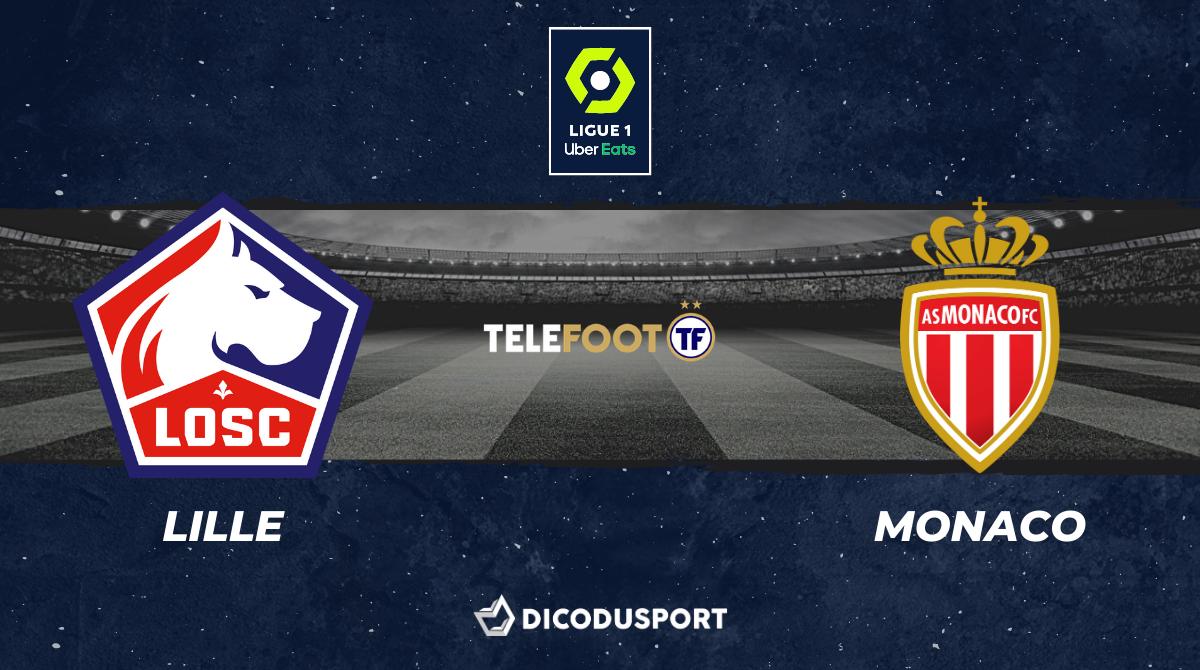 Football - Ligue 1 - notre pronostic pour Lille - Monaco