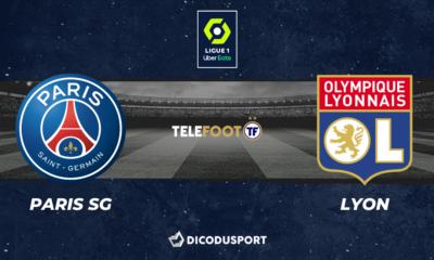 Football - Ligue 1 notre pronostic pour PSG - Lyon