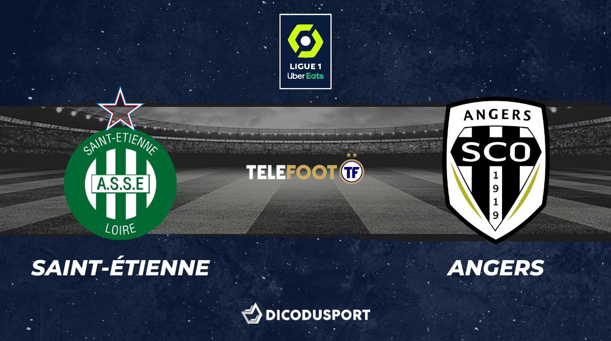 Football - Ligue 1 notre pronostic pour Saint-Étienne - Angers